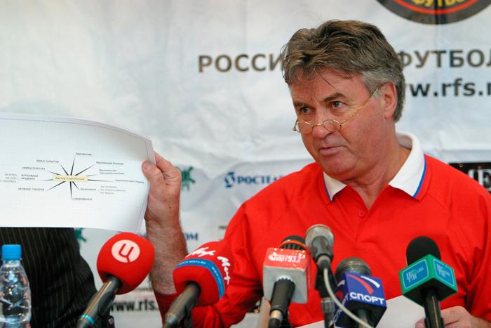 Topcoach Guus Hiddink leerde de Spaanse taal voordat hij in het land ging coachen.